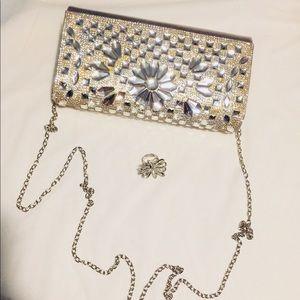 Sparkle diamond bag